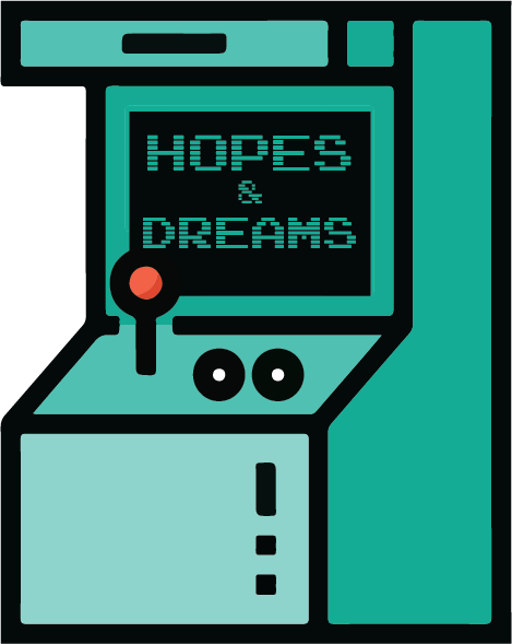 A game console of Hopes & Dreams